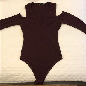 Dark Purp Bodysuit
